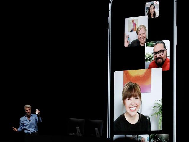 Gerçekleştirici iOS ahora mismo para kodlayıcı hacer llamadas grupları de FaceTime