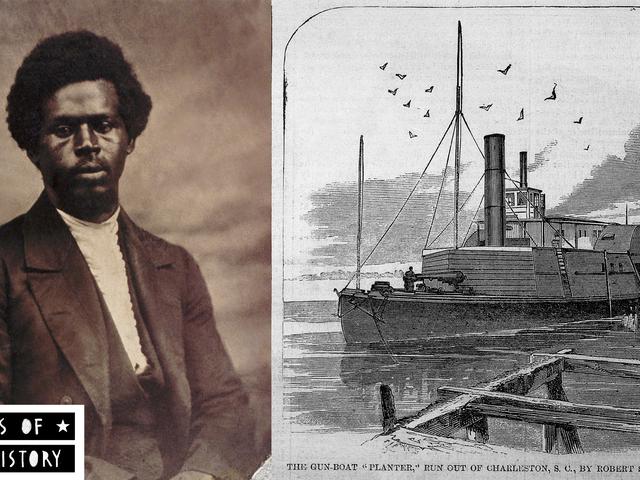 Rebelles de l'histoire des Noirs: la grande évasion de Robert Smalls