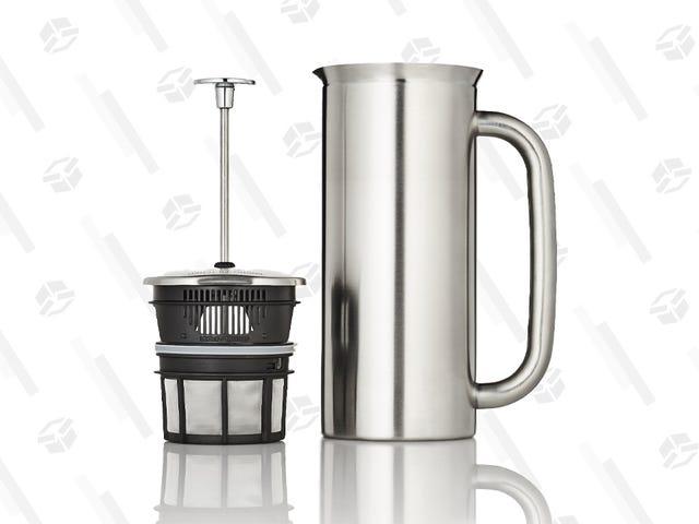 Luokittele aamupäiväsi tällä kahvipuristimella