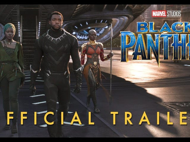 New Black Panther trailer er her