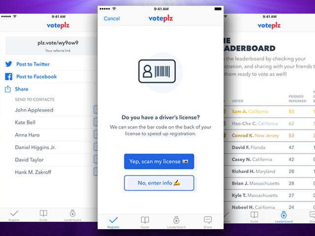 VotePlz Uses iMessages to Help Convince Your Friends to Register to Vote