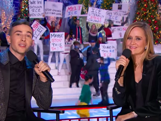 Sam Bee and Adam Rippon host the holiday civil rights pageant Full Frontal's I.C.E. On Ice