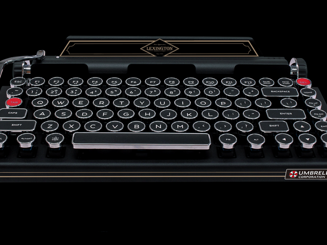 Official Resident Evil 2 Remake Keyboard Costs Only $675