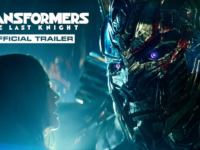 I guess I am a glutton for punishment today because I am about 40 mins into Transformers the Last Knight