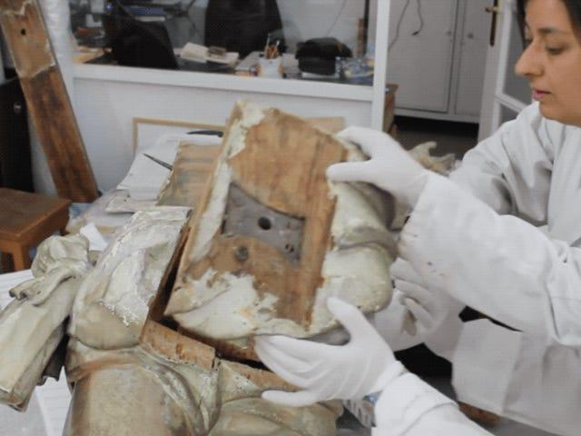 Secret Time Capsule Found Inside Jesus' Butt