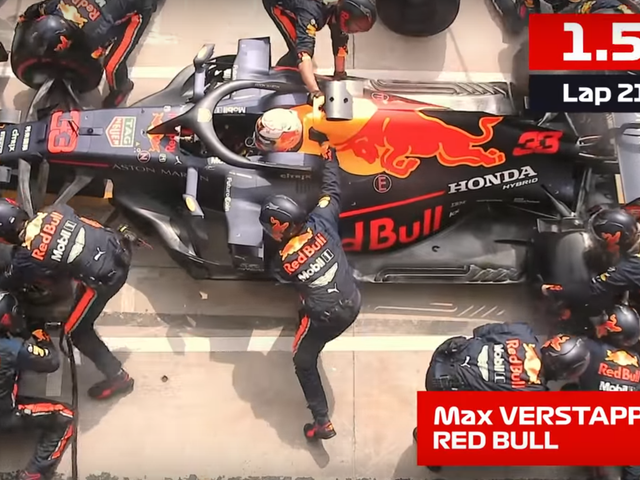 Red Bull Beats Its Own Record For Fastest Pit Stop For The Third Time This Season