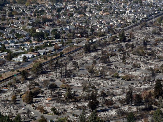 Northern California Wildfires Death Toll Rises to 38