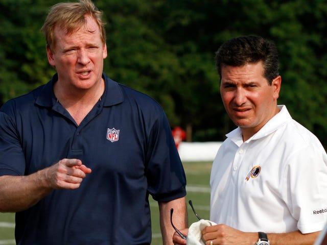 Roger Goodell Assures Everyone Washington Football Team Will Remain Racist Despite Chief Wahoo Removal