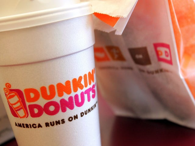 Dunkin' Donuts to stop serving coffee in its iconic foam cups