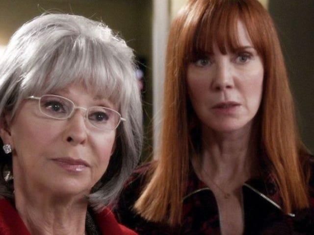 Rita Moreno and Casey Wilson check-in on a zippy Grey's Anatomy