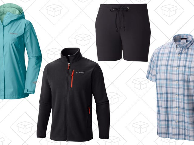 Get Your Outerwear For A Lot Less During the Last Days of Columbia's Labor Day Sale