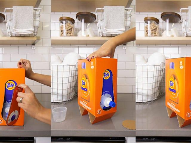 Ahorra un par de dólares en un detergente con pack ecológico