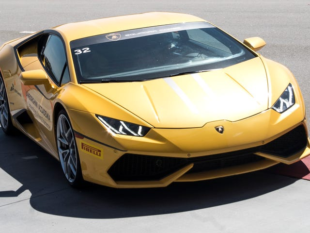 Pure Speed Isn't Even The Best Thing About The Lamborghini Huracán