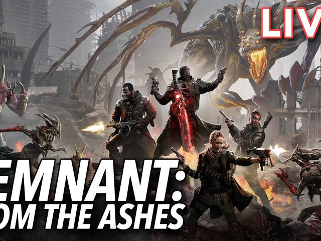 Our own Heather Alexandra is streaming Remnant: From the Ashes right now on our Twitch channel. Join