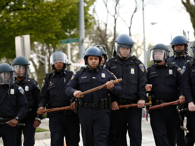 The 7 Most Outrageous and Racist Acts Found in DOJ's Report on Baltimore Police Department