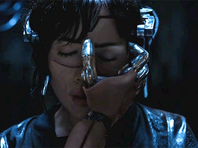 The New Ghost in the Shell Teaser Feels Like a Cyborg Fever Dream
