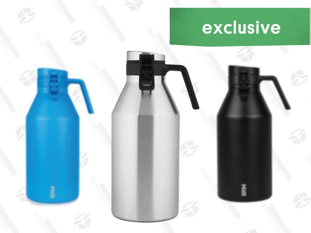 Stealthily Drink Beer From MiiR's 64oz Insulated Growler for 15% Less [Exclusive]