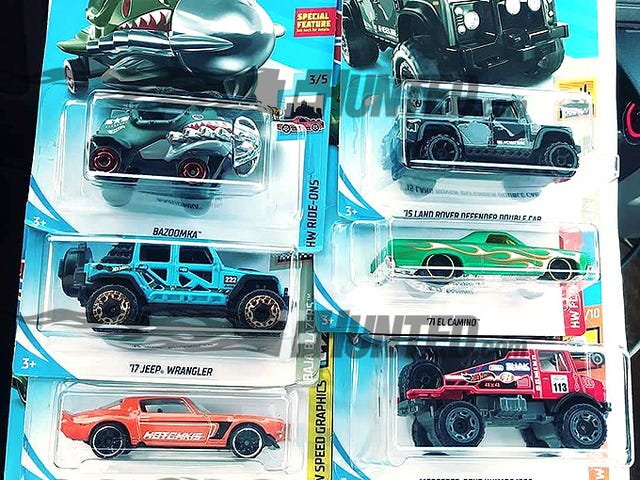 Let's all welcome the Hot Wheels 2019 A Case