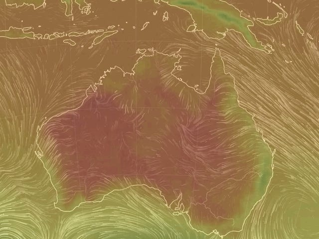 Australia Just Set a New Heat Record [Updated: Again]