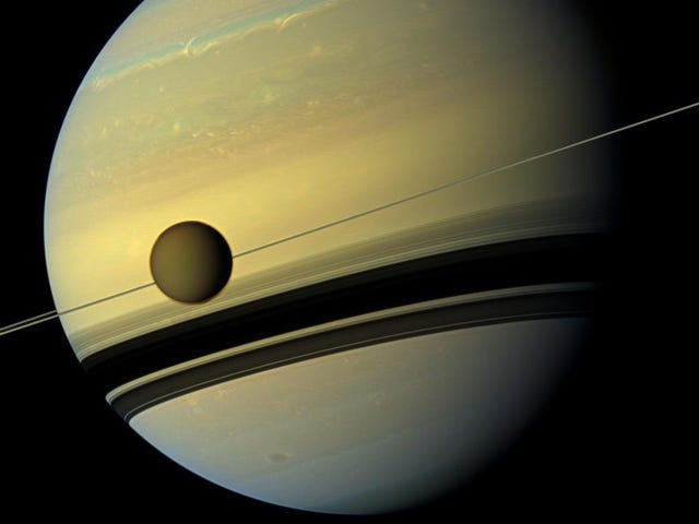 Saturn's Best Moon Is Drifting Away Quicker Than We Thought