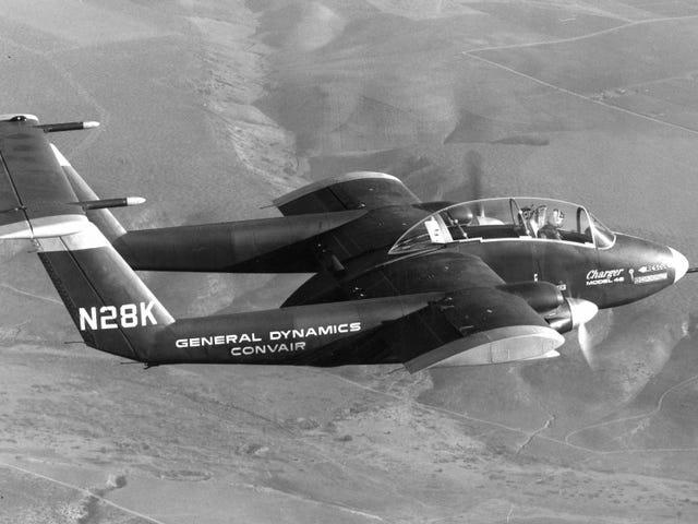เครื่องชาร์จ Convair รุ่น 48: ปีกสั้นวิ่งขึ้นสั้น