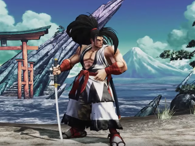 First Look At The New Samurai Shodown For PS4