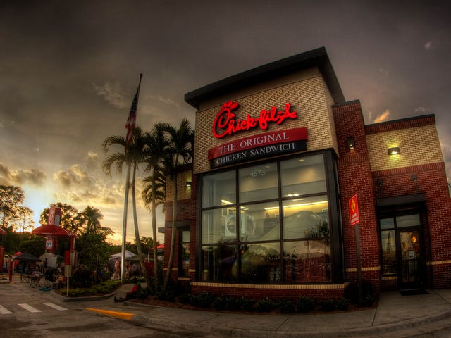 There's Been a Credit Card Breach at Chick-Fil-A