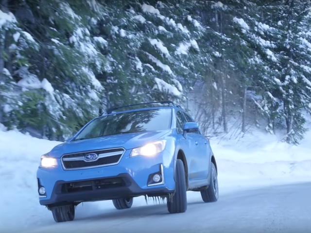 Why You Shouldn't Drive Around In Warm Weather With Your Winter Tires
