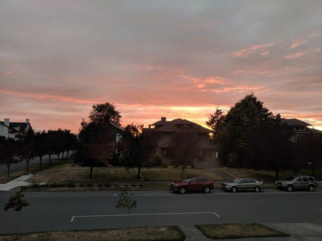 पिछले हफ्ते की सूर्यास्त की तस्वीरें