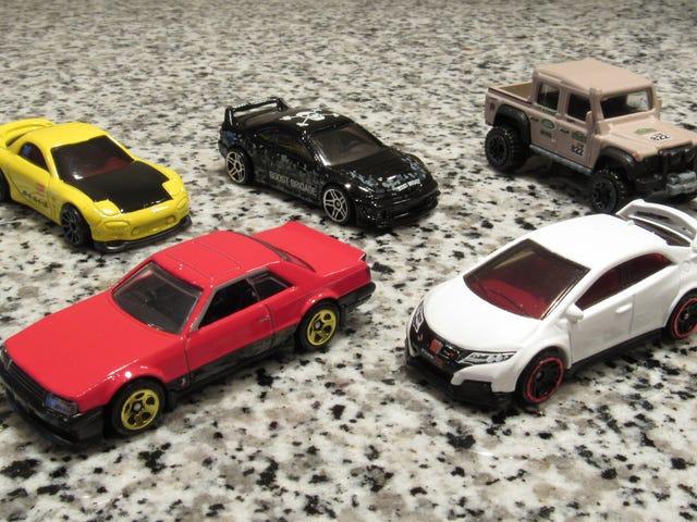 HAWL: Recent Hot Wheels Edition