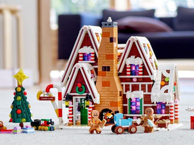Ngôi nhà bánh gừng của Lego giữ bí mật làm phiền