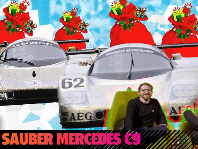 Ahí está la luz Ahí está el Sauber-Mercedes C9