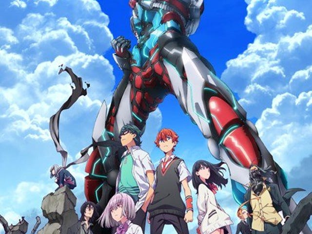 Here it is the new promo of the anime of SSSS.Gridman