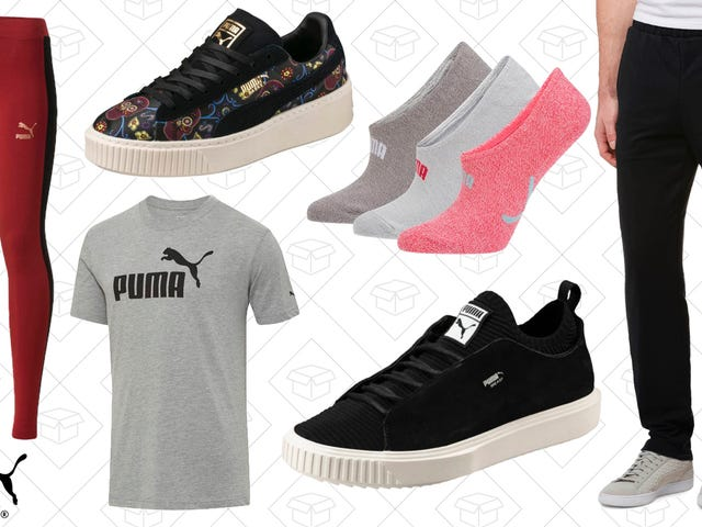 Get a Head Start On Your Resolution With This Sitewide PUMA Sale