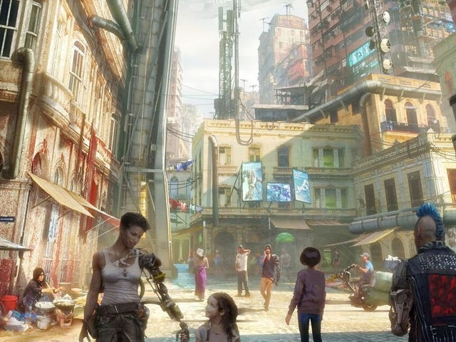 Alita: Battle Angel's Interactive Experience Puts You at the Heart of Iron City's Hottest Competition