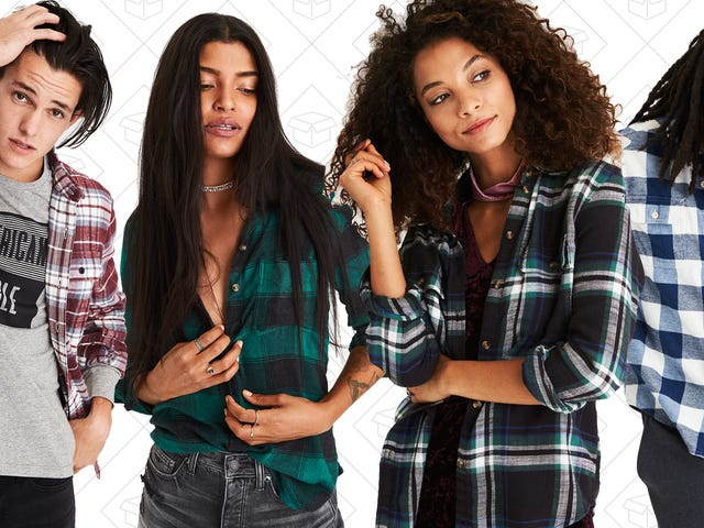 $25 Flannels From American Eagle Is a Good Excuse To Buy Yourself Something