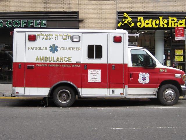 Le service d'ambulance bénévole de New York a un temps de réponse de 2,5 minutes