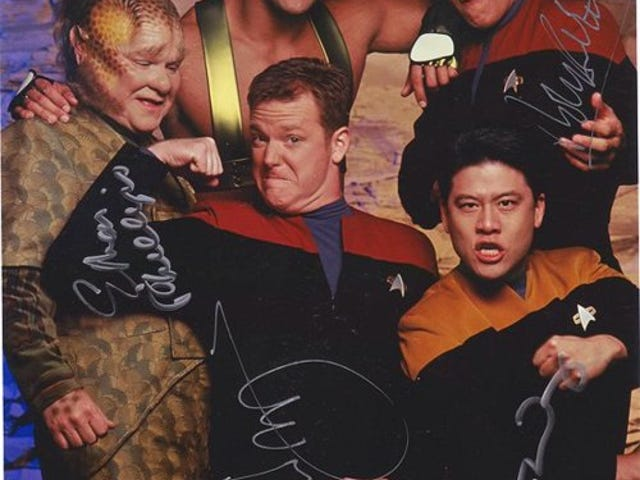 Excuse Me, But I Think You've Got a Little Bit of Weirdness, Just, Right, There: Star Trek: VoyagerEdition