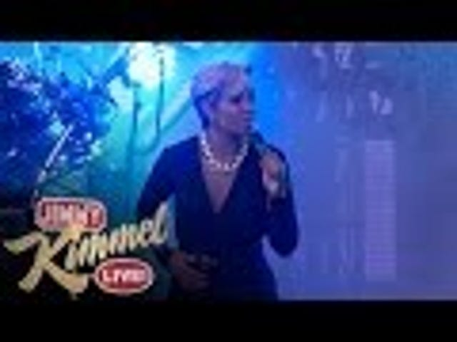 Mary J. Blige and Disclosure Were Really Good on Kimmel Last Night