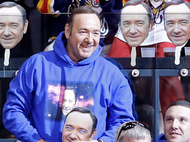 Kevin Spacey Dan The Florida Panthers: A Love Story