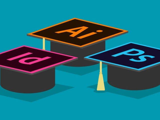 Ottieni una vita di formazione sulla certificazione software Adobe per soli $ 39