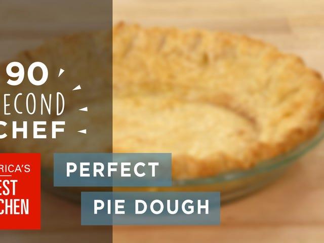 Μάθετε τα τρία βήματα για την τέλεια ζύμη πίτας με αυτό το βίντεο