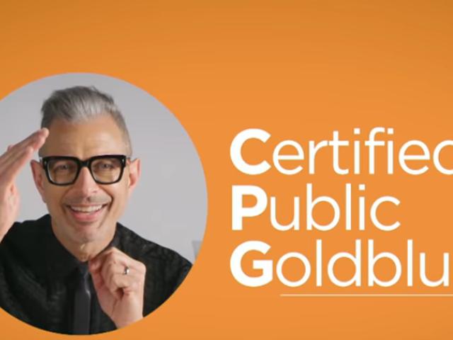 Let Jeff Goldblum do your taxes!* (*Do not let Jeff Goldblum do your taxes)