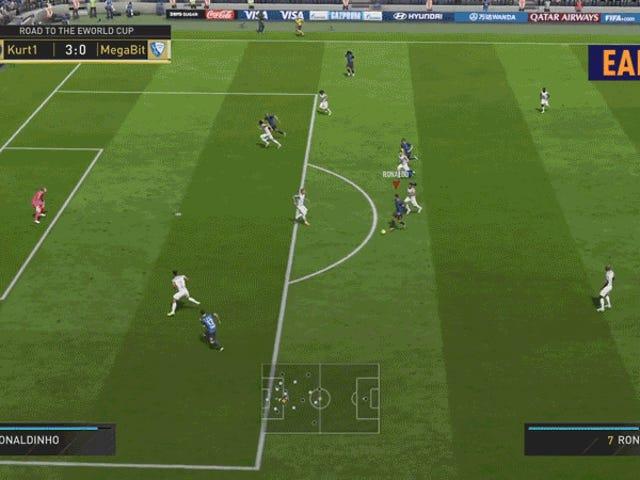 FIFA Pro Dribbles Circles Around The Defense