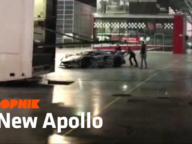 अपोलो स्वाभाविक रूप से आकांक्षा वाले सुपरकार क्रांति के साथ वापस आ गया है