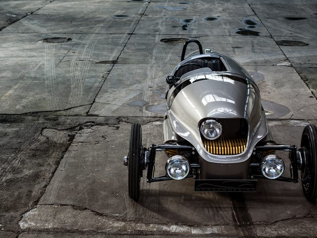The Magically Steampunk Morgan Electric 3-Wheeler Is Finally Going Into Production
