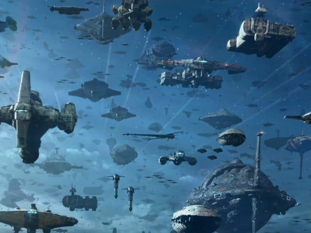 Посмотрите, как был создан самый впечатляющий флот Star Wars в этом эксклюзивном клипе Rise of Skywalker