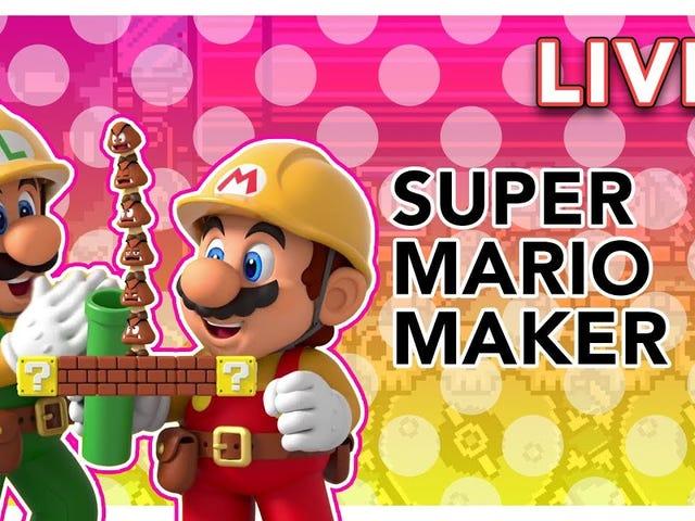 Trong trường hợp bạn bỏ lỡ luồng Super Mario Maker 2 của chúng tôi vào đầu ngày hôm nay, Tim và tôi đã phá vỡ nút boo đó o