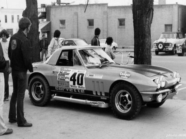 Rally Corvette