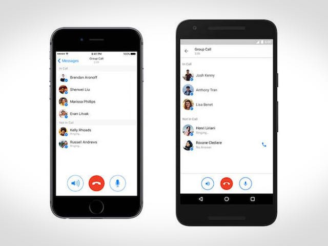 Facebook Messenger Now Has Group Calling